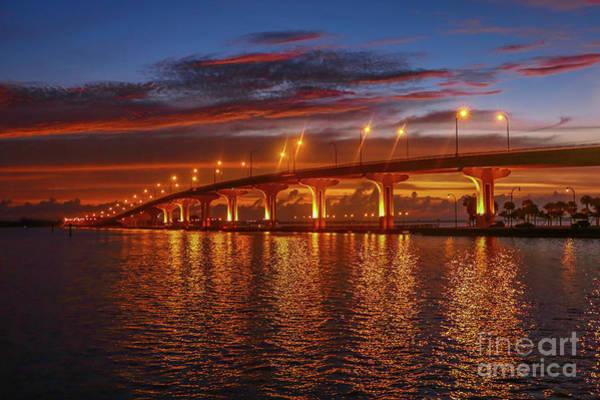 Photograph - Causeway Sunrise by Tom Claud