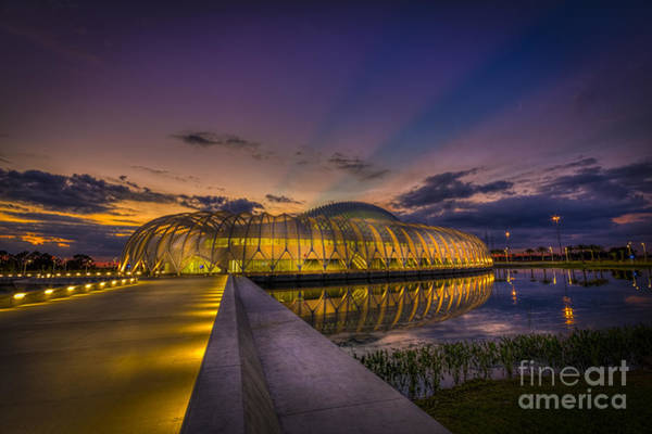 Blue Hour Photograph - Causeway To Learning by Marvin Spates