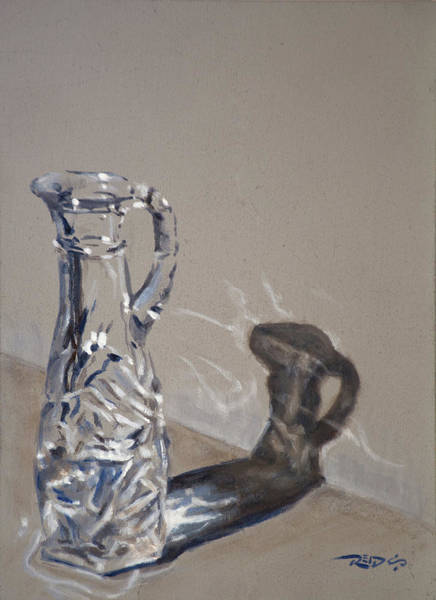 Painting - Caustics Study by Christopher Reid