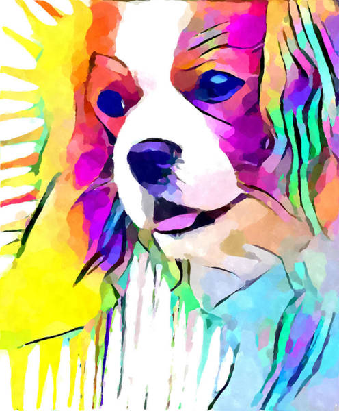 Wall Art - Painting - Cavalier King Charles Spaniel by Chris Butler