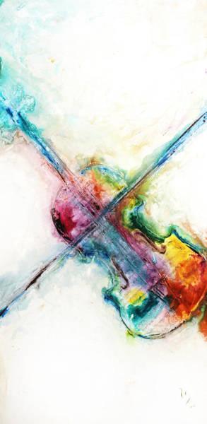 Sax Painting - Cavatina by Ivan Guaderrama