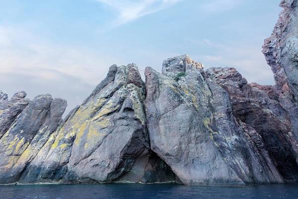 Calvi Photograph - Cave In La Scandola - Corsica by Joana Kruse
