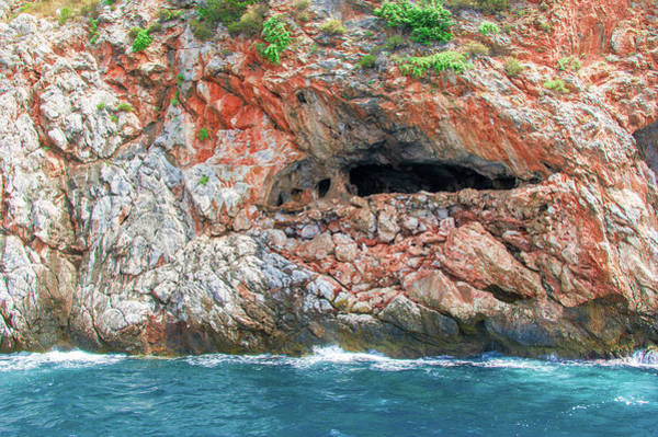 Photograph - Cave Of Lovers In Alanya by Sun Travels