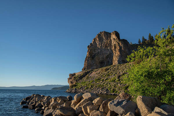 Photograph - Cave Rock - 2 by Jonathan Hansen