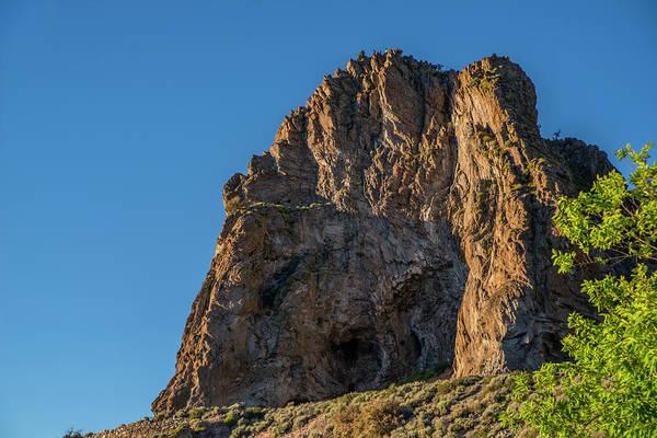 Photograph - Cave Rock At Sunset by Jonathan Hansen