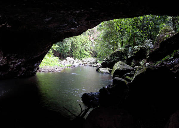 Photograph - Cave Stream by Nicholas Blackwell
