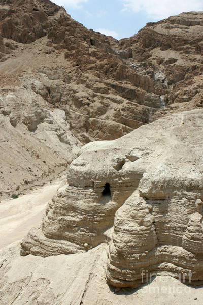 Photograph - Caves Of The Dead Sea Scrolls by Steven Frame