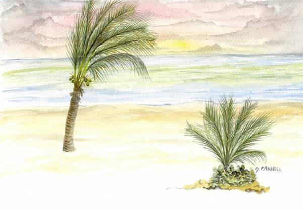 Cayman Beach Art Print