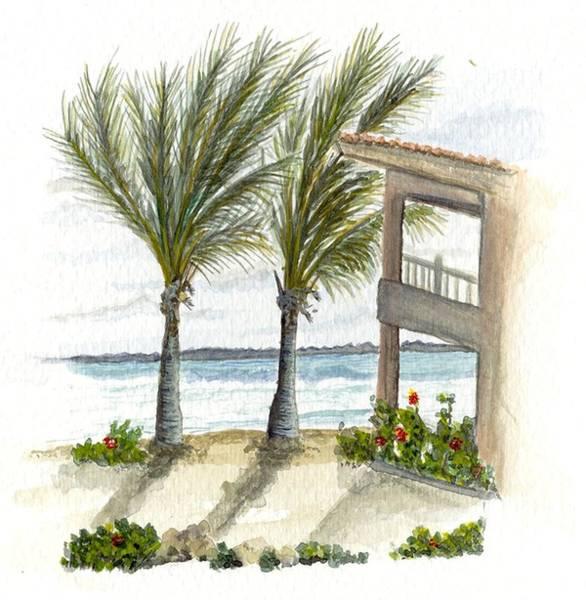 Cayman Hotel Art Print