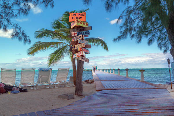 Cayman Islands Rum Point Lazy Day Art Print