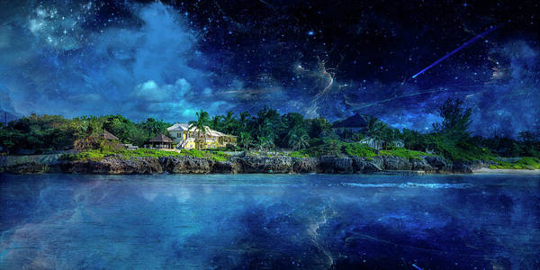 Cayman Nightscape Art Print