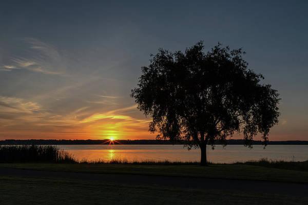 Photograph - Cayuga Lake Sunrise by Rod Best
