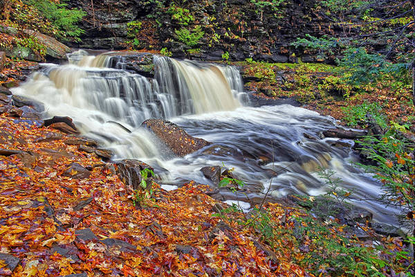 Wall Art - Photograph - Cayuga Waterfall by Marcia Colelli