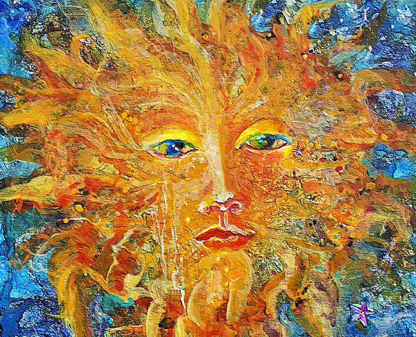 Sunday Painting - Cbs Sun Art 2010 by Mary Sonya Conti