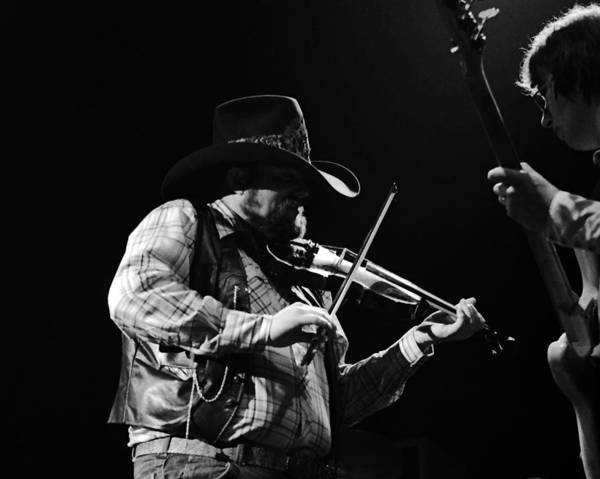 Photograph - Cdb Winterland 12-13-75 #10 Crop 3 by Ben Upham