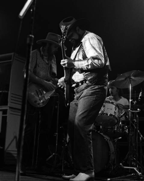 Photograph - Cdb Winterland 12-13-75 #13 by Ben Upham