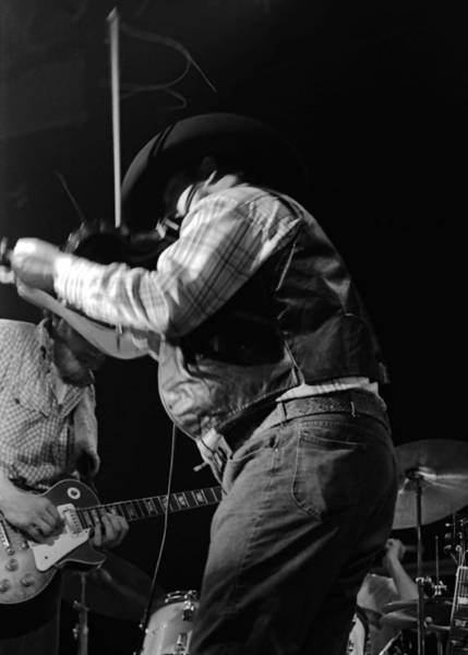 Photograph - Cdb Winterland 12-13-75 #16 Crop 2 by Ben Upham