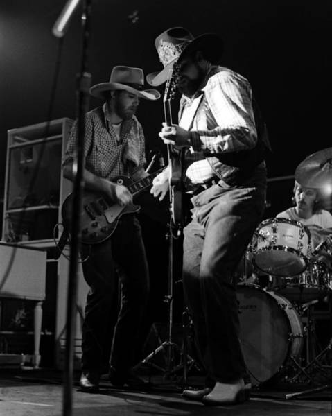 Photograph - Cdb Winterland 12-13-75 #2 by Ben Upham
