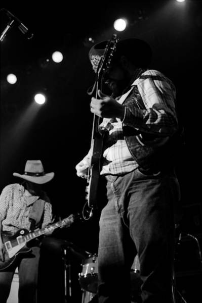 Photograph - Cdb Winterland 12-13-75 #21 by Ben Upham