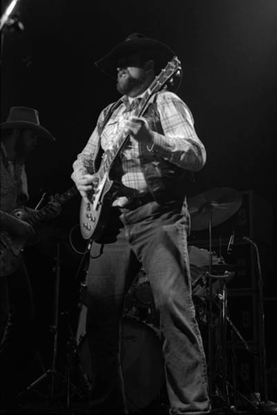 Photograph - Cdb Winterland 12-13-75 #28 by Ben Upham