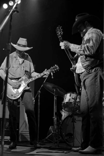 Photograph - Cdb Winterland 12-13-75 #33 by Ben Upham