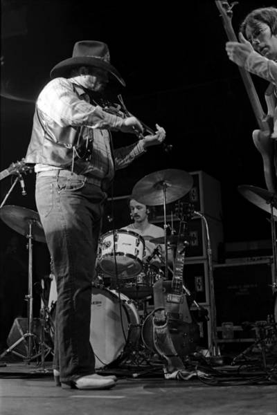 Photograph - Cdb Winterland 12-13-75 #37 by Ben Upham
