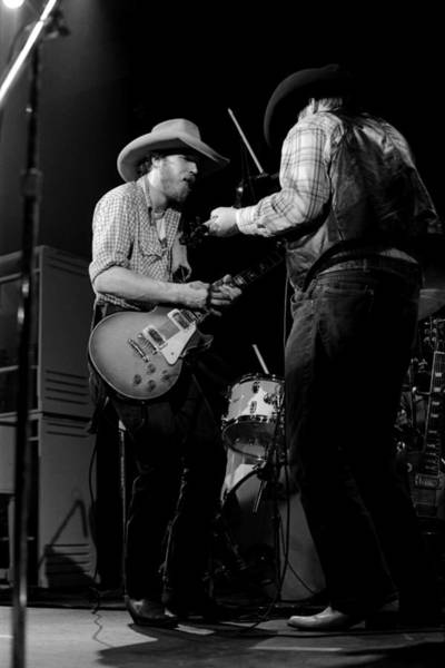 Photograph - Cdb Winterland 12-13-75 #40 by Ben Upham