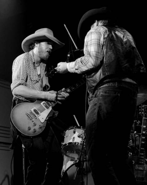 Photograph - Cdb Winterland 12-13-75 #40 Crop 2 by Ben Upham