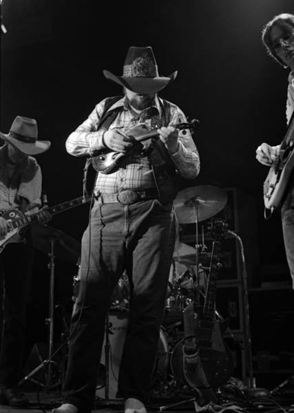 Photograph - Cdb Winterland 12-13-75 #42 by Ben Upham