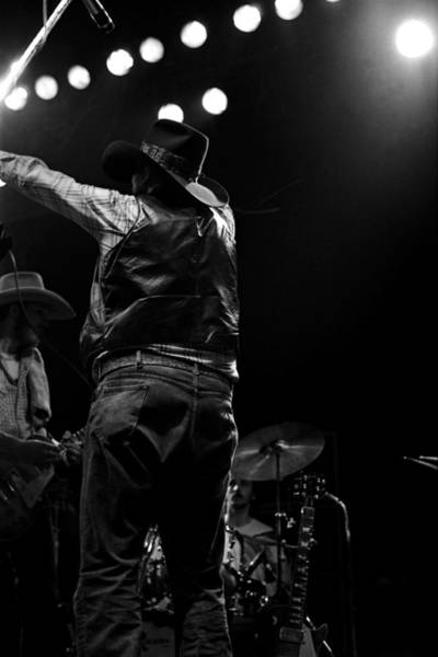 Photograph - Cdb Winterland 12-13-75 #44 by Ben Upham