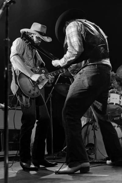 Photograph - Cdb Winterland 12-13-75 #56 by Ben Upham