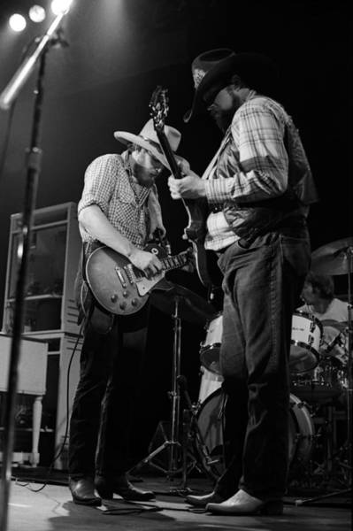 Photograph - Cdb Winterland 12-13-75 #9 by Ben Upham