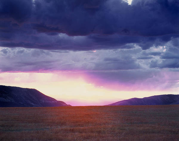 Photograph - Cdt Sunset by Leland D Howard