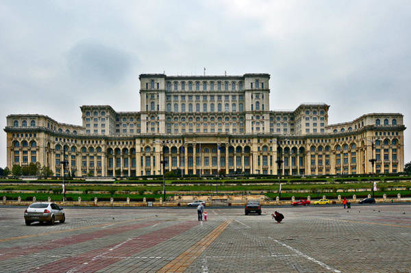 Ceausescu Wall Art - Photograph - Ceausescu Palace. by Andy Za