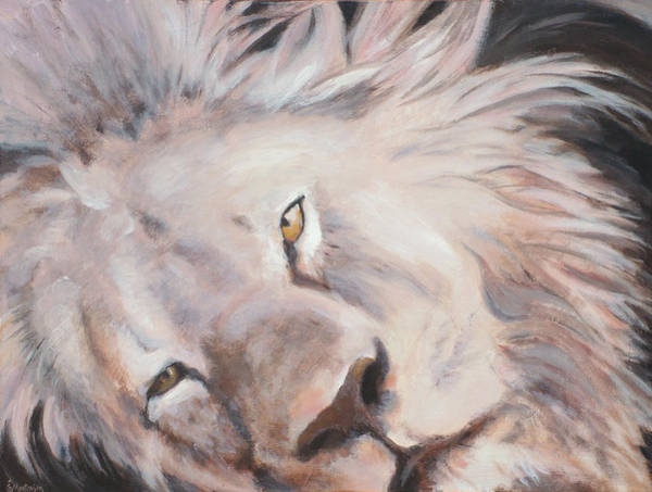 Wall Art - Painting - Cecil by Ekaterina Mortensen