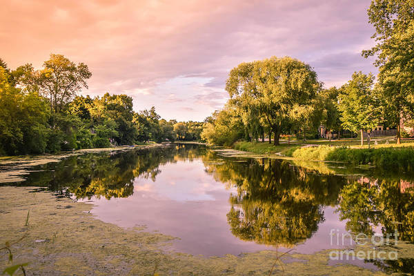Late Afternoon Wall Art - Photograph - Cedar Creek - Early Evening by Mary Machare