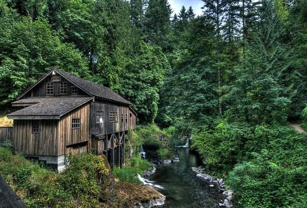 Photograph - Cedar Creek Grist Mill by Brad Granger