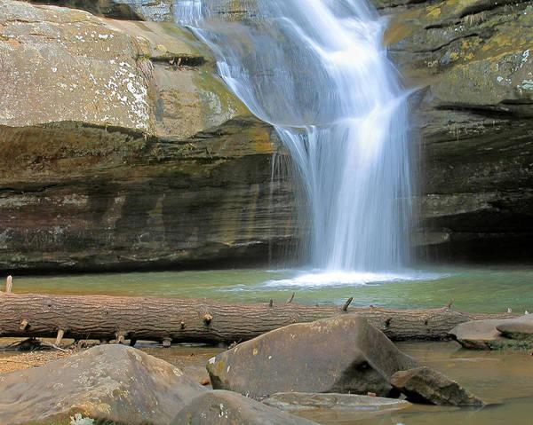Photograph - Cedar Falls In Hocking Hills by Angela Murdock