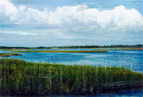 Mixed Media - Cedar Key 2 by Bob Senesac
