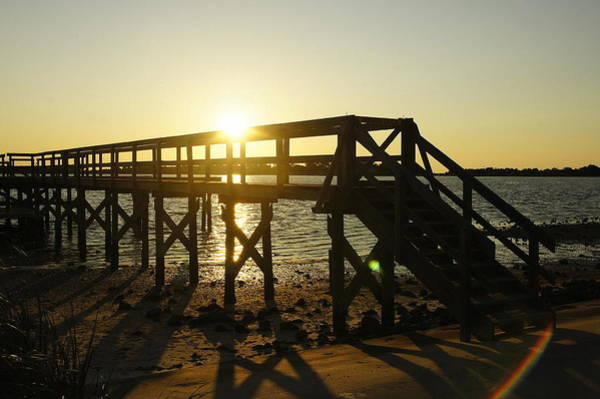 Cedar Key Photograph - Cedar Key Sunset by Laurie Perry