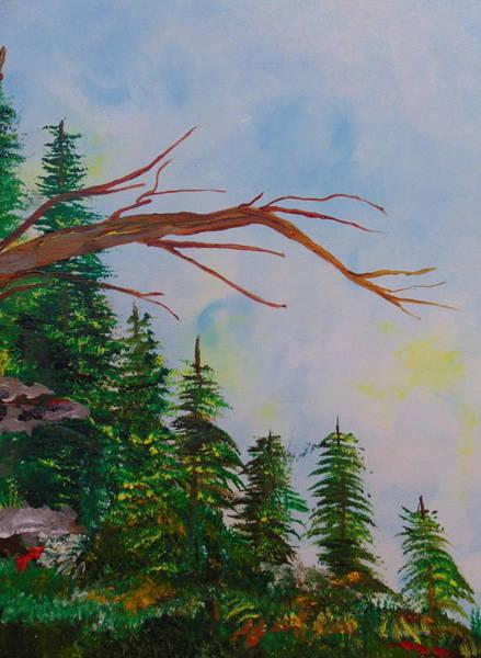 Wall Art - Painting - Cedars 2 by Rich Mason