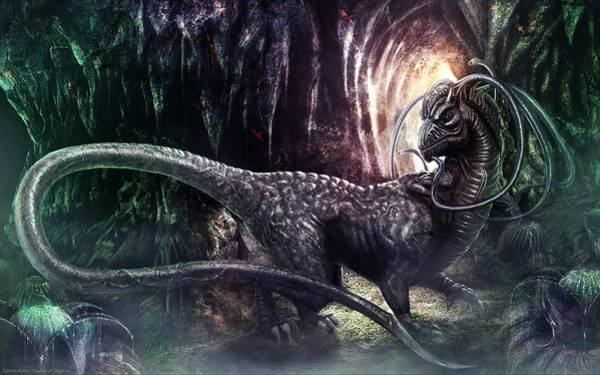 Animal Digital Art - Ceiron Wars by Super Lovely