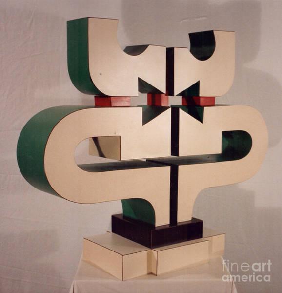 Sculpture - Celebrant by Robert F Battles