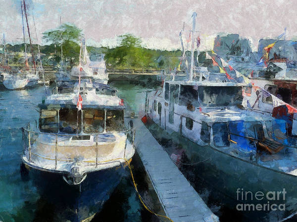 Photograph - Celebrate Boating by Claire Bull