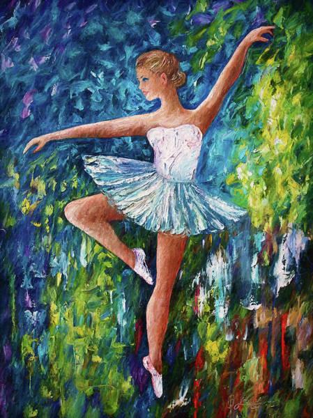 Painting - Celebrating Spring  by OLena Art - Lena Owens