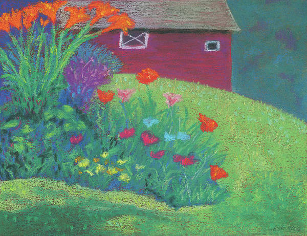 Pastel - Celebration by Anne Katzeff