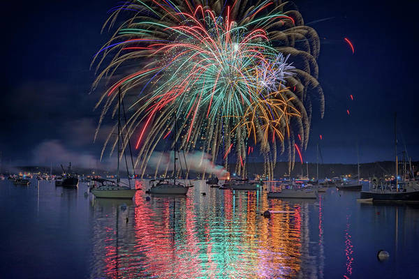 Wall Art - Photograph - Celebration In Boothbay Harbor by Rick Berk