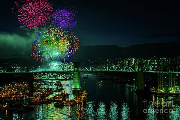 Canada Wall Art - Photograph - Celebration Of Light Festival 3 by Viktor Birkus