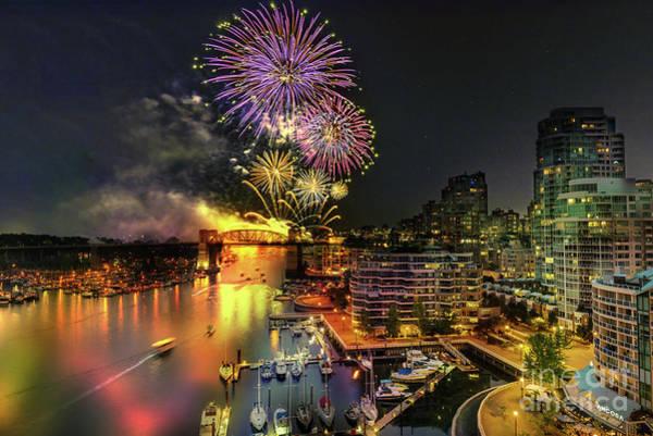 Canada Wall Art - Photograph - Celebration Of Light Festival 8 by Viktor Birkus