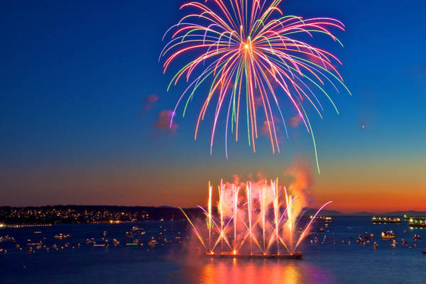 Wall Art - Photograph - Celebration Of Light by Julius Reque